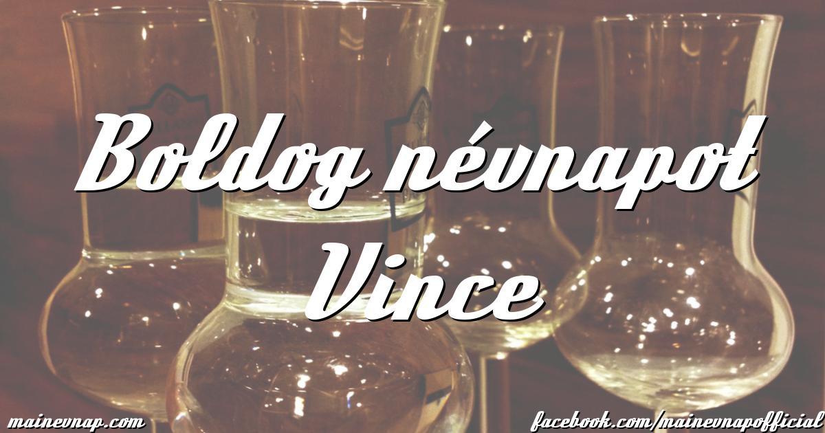 vince boldog Boldog névnapot Vince vince boldog