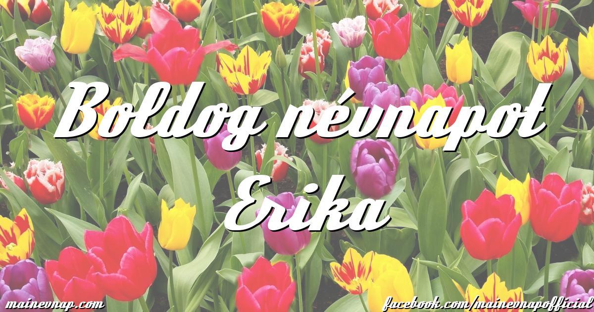 boldog névnapot erika képeslap Boldog névnapot Erika boldog névnapot erika képeslap
